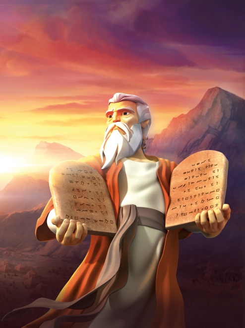 The Ten Commandments - Superbook Academy United Kingdom