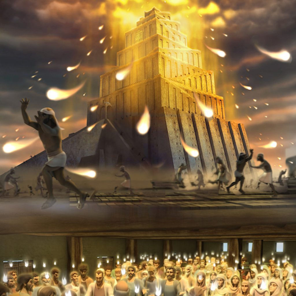 THE TOWER OF BABEL AND THE DAY OF PENTECOST
